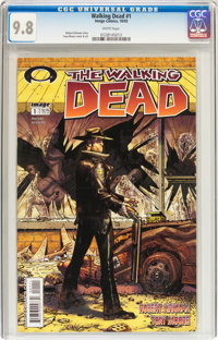 Walking Dead #1 (Image, 2003) CGC NM/MT 9.8 White pages