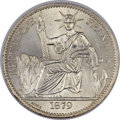 French Cochinchina, French Cochinchina: French Colony 50 Cents 1879-A MS65 NGC,...