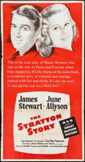 """Movie Posters:Sports, The Stratton Story (MGM, R-1956). Three Sheet (41"""" X 78.75""""). Sports.. ..."""