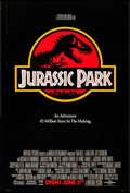 "Movie Posters:Science Fiction, Jurassic Park (Universal, 1993). One Sheet (27"" X 40"") SS Advance.Science Fiction.. ..."