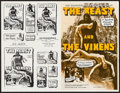 "Movie Posters:Horror, The Beast and the Vixens & Others Lot (Sophisticated Films, 1974). Uncut Pressbooks (10) (4 Pages, 11"" X 17""), & One Sheets ... (Total: 100 Items)"