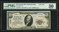 National Bank Notes:Pennsylvania, Schwenksville, PA - $10 1929 Ty. 2 The NB & TC Ch. # 2142. ...