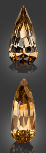 Gems:Faceted, Gemstone Parcel: Topaz from Madagascar - 123.0 TCW. TranomaroCommune, Amboasary District, Anosy Region, Tuléar Province...(Total: 2 Items)