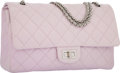 Luxury Accessories:Bags, Chanel Pink Quilted Lambskin Leather Reissue Jumbo Double Flap Bagwith Silver Hardware. Very Good to Excellent Condition...