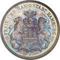German States:Hamburg, German States: Hamburg. Free City Proof 2 Mark 1906-J PR66 PCGS,...