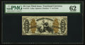 Fractional Currency:Third Issue, Fr. 1372 50¢ Third Issue Justice PMG Uncirculated 62.. ...