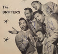 Music Memorabilia:Autographs and Signed Items, The Drifters Signed Page, circa 1954....