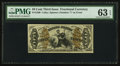 Fractional Currency:Third Issue, Fr. 1360 50¢ Third Issue Justice PMG Choice Uncirculated 63 EPQ.. ...