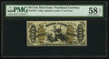 Fractional Currency:Third Issue, Fr. 1361 50¢ Third Issue Justice PMG Choice About Unc 58 EPQ.. ...