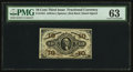 Fractional Currency:Third Issue, Fr. 1254 10¢ Third Issue PMG Choice Uncirculated 63.. ...