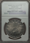 Mexico, Mexico: Republic 8 Reales 1836 Do-RM XF Details (Surface Hairlines)NGC,...