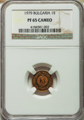 Bulgaria, Bulgaria: People's Republic Proof Stotinka 1979 PR65 Cameo NGC,...