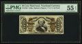 Fractional Currency:Third Issue, Fr. 1325 50¢ Third Issue Spinner PMG About Uncirculated 55 EPQ.. ...