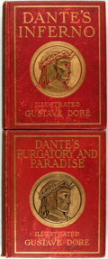 Books:Literature Pre-1900, Dante Alighieri. M. Gustave Dore, illustrations. Dante'sInferno: The Vision of Hell [and:] The Vision of Pu...(Total: 2 Items)