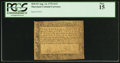 Colonial Notes:Maryland, Maryland August 14, 1776 $1/3 PCGS Fine 15.. ...