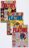 Golden Age (1938-1955):Miscellaneous, Feature Comics Group of 9 (Quality, 1943-50).... (Total: 9 Comic Books)