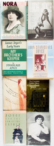 Books:Biography & Memoir, [James Joyce, subject]. Group of Eight Books about Joyce's Familyand Relationships. Various publishers and dates.... (Total: 8Items)