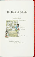 Books:Literature Pre-1900, Fritz Kredel, illustrator. SIGNED/LIMITED. MacEdward Leach, editor.The Book of Ballads. The Limited Editions Cl...