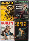 Pulps:Detective, Assorted Detective and Mystery Pulps and Paperbacks Box Lot (Miscellaneous Publishers, 1940s-60s) Condition: Average VG....