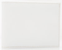 "Hermes White Epsom Leather Bifold Wallet Excellent Condition 4"" Width x 3"" Height x .5"" Depth"