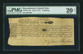 Colonial Notes:Massachusetts, Massachusetts July 8, 1775 9s PMG Very Fine 20 Net.. ...