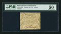 Colonial Notes:Massachusetts, Massachusetts October 16, 1778 9d PMG About Uncirculated 50.. ...