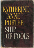 Books:Literature 1900-up, Katharine Anne Porter. Ship of Fools. Boston: Little, Brown and Company, [1962]....