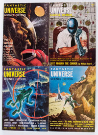 Assorted Science Fiction Pulp Digests Box Lot (Miscellaneous Publishers, 1940s-60s) Condition: Average VG.... (Total: 5...