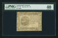 Colonial Notes:Continental Congress Issues, Continental Currency May 20, 1777 $7 PMG Extremely Fine 40.. ...