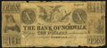 Obsoletes By State:Ohio, Norwalk, OH- Bank of Norwalk Altered $10 Jul. 1, 1847 A10 Wolka2005-34. ...