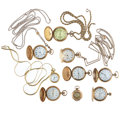 Timepieces:Pocket (post 1900), Nine Lady's Pocket Watches. ... (Total: 9 Items)