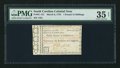 Colonial Notes:South Carolina, South Carolina March 6, 1776 £1 15s PMG Choice Very Fine 35 Net.. ...