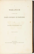 Books:Natural History Books & Prints, Thaddeus W. Harris. A Treatise on Some of the Insects Injurious to Vegetation. Boston: William White, 1862....