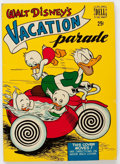 Golden Age (1938-1955):Cartoon Character, Dell Giant Comics Vacation Parade #1 Vacation Parade (Dell, 1950)Condition: FN....