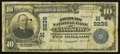 National Bank Notes:Missouri, Kansas City, MO - $10 1902 Plain Back Fr. 626 Traders NB Ch. #(M)9236. ...