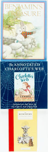 Books:Children's Books, [Garth Williams]. Group of Three First Edition Children's Bookswith Illustrations by Garth Williams. ... (Total: 3 Items)