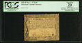 Colonial Notes:Maryland, Maryland December 7, 1775 $6 PCGS Apparent Very Fine 20.. ...