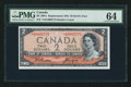 Canadian Currency: , BC-30bA $2 1954 Devil's Face Replacement Note . ...
