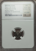 Ancients:Celtic, Ancients: BRITISH CELTS. Iceni. Ca. AD 25-38. AR plated unit (0.96gm)....
