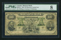 Canadian Currency: , Montreal, PQ- Molsons Bank $10 Jan. 1, 1880 Ch. # 490-22-24 . ...