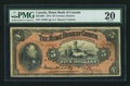 Canadian Currency: , Toronto, ON- Home Bank of Canada $5 Mar. 2, 1914 Ch. # 365-10-04. ...