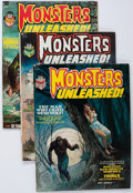 Magazines:Horror, Monsters Unleashed #1-11 Complete Series Group (Marvel, 1973-75) Condition: Average VF/NM.... (Total: 12 Comic Books)