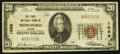 National Bank Notes:Maine, Biddeford, ME - $20 1929 Ty. 1 The First NB Ch. # 1089. ...