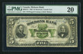 Canadian Currency: , Montreal, PQ- Molsons Bank $5 Jan. 3, 1893 Ch. # 490-22-12. ...