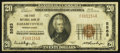 National Bank Notes:Pennsylvania, Elizabethville, PA - $20 1929 Ty. 1 The First NB Ch. # 5563. ...
