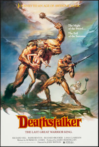 "Deathstalker & Other Lot (New World, 1983). One Sheets (2) (27"" X 41""). Action. ... (Total: 2 Items)"