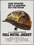 "Movie Posters:War, Full Metal Jacket (Warner Brothers, 1987). French Grande (47"" X63""). War.. ..."