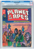 Magazines:Science-Fiction, Planet of the Apes #1 (Marvel, 1974) CGC VF+ 8.5 Off-white pages....