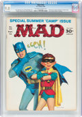 Magazines:Mad, MAD #105 (EC, 1966) CGC VF/NM 9.0 Off-white to white pages....