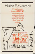 """Movie Posters:Foreign, Mr. Hulot's Holiday (Continental Films & GBD International, R-1960s/1954). One Sheet (27"""" X 41"""") & Photos (5) (8"""" X 10""""). Fo... (Total: 6 Items)"""
